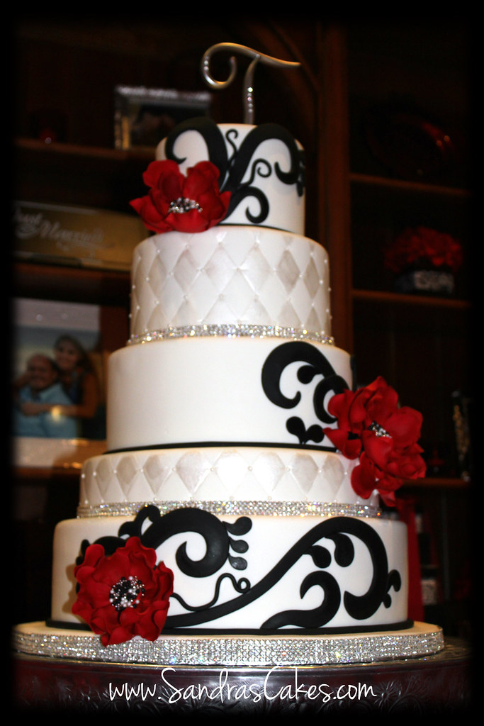 red and black wedding cake images black and white wedding cake durbin 19067