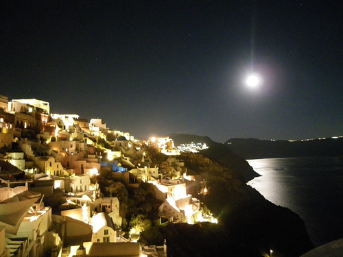 Oia by night 1 | by eirini_aiv
