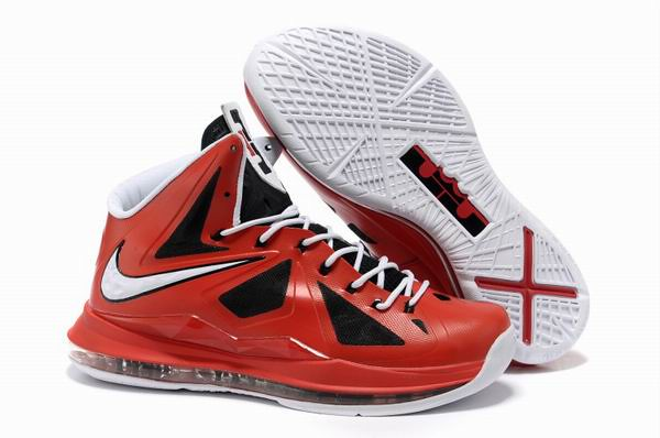 low priced 0133f 6d979 ... Nike Lebron X 10 Indiana Red   Black - White   by 4saleonsale