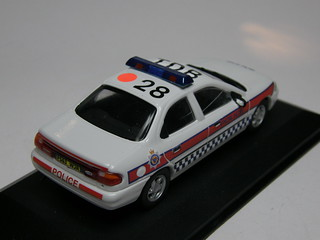 1:43 scale 1996 Northumbria Police Ford Mondeo | by T.O.T. Models