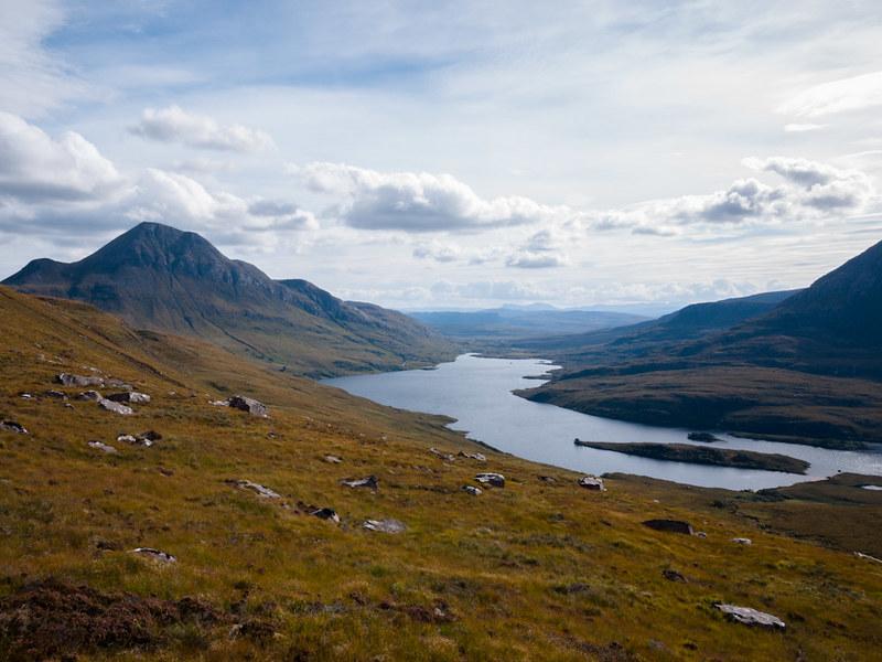 Cul Beag and Loch Lurgainn