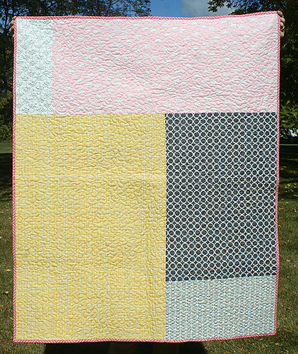Cartwheels quilt - the back | by freshlypieced