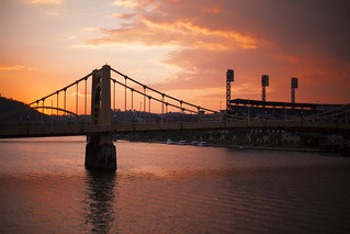 Sunset Clemente Bridge | by geeves