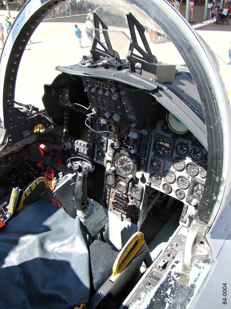120th Fw Mcdonnell Douglas F 15c Eagle 84 0004 Cockpit