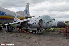ZD610 002 N - XZ499 003 - 912049 P27 - Royal Navy - British Aerospace Sea Harrier FA2 - 140525 - Bruntingthorpe - Steven Gray - IMG_1979
