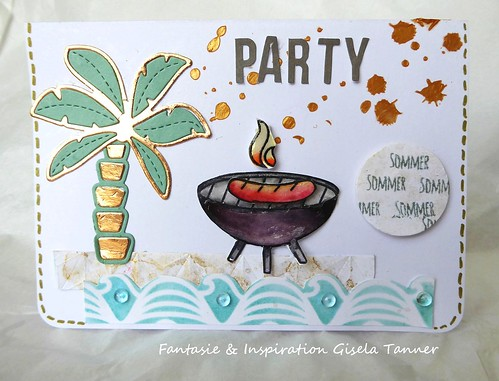 Summertime mit Beach-Party