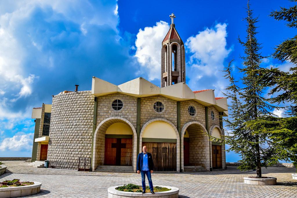 Terms Of Use >> Myself At Saint Charbel Church Annaya, Lebanon | My intervie… | Flickr