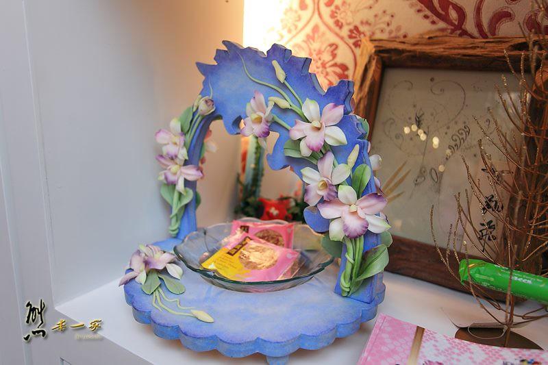 花莲隐藏版贵妇下午茶|翔飞点心小栈|手作黏土