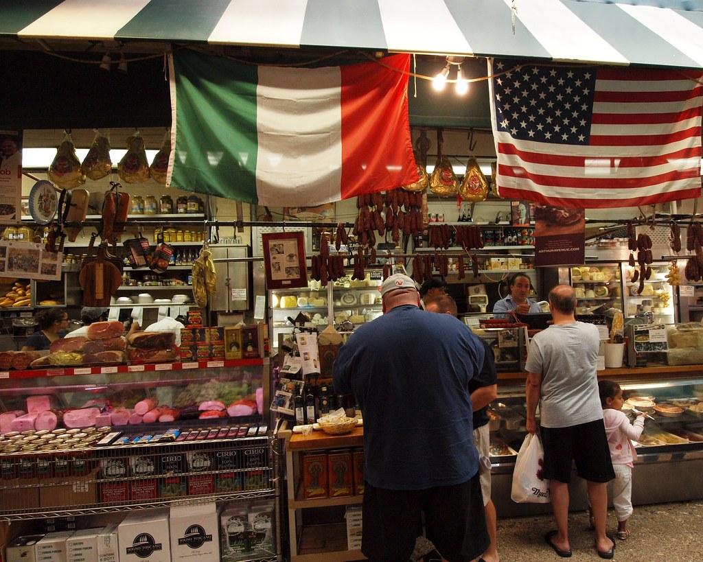 Рынок в италии