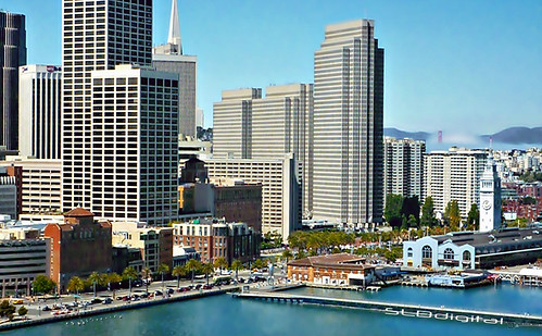San Francisco a drive by shot from the Bay Bridge | by SLDdigital