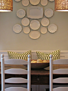 white plate wall cottageandvine | by Mudrick
