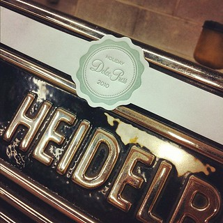 Just found these letterpress tags we made for our 2010 holiday collection. | by dolcepress
