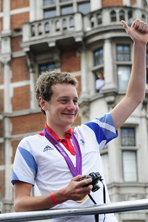 UK - London 2012 - Victory Parade - Alistair Brownlee | by Darrell Godliman