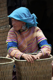 Bac Ha - Basket vendor | by iris_muni