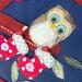 Baby Owls Advent Calendar (detail)
