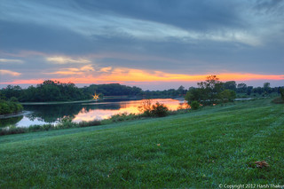 Sunset from Blackwell Forest Preserve | by harshthakur