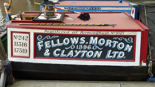 Fellows Morton and Clayton Northwich Gloucester Waterways Museum Gloucester Docks | by woodytyke