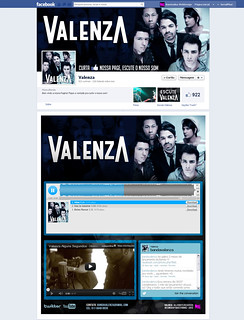 Banda Valenza - Facebook Design | by Bruno Medino