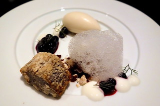 Spice Cake, Huckleberry, Yogurt, Oatmeal Ice Cream | by I am Jeffrey