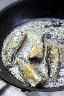 sardines in Bordier butter | by David Lebovitz