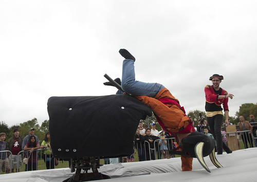 Dueling Mechanical Bulls | by NYSCI