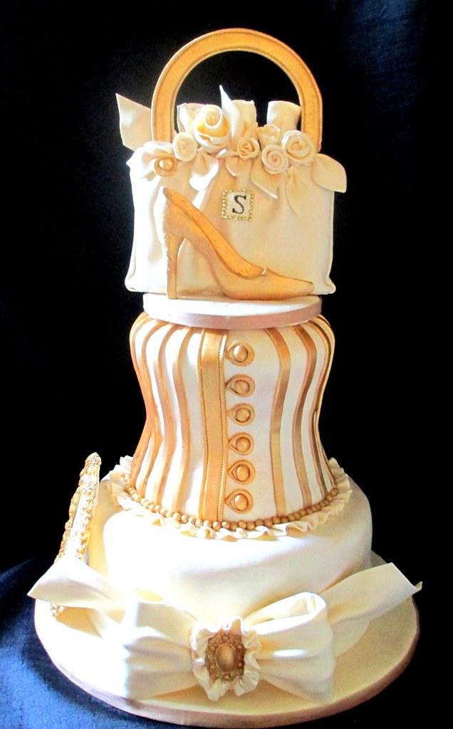Wedding Cake Corset