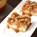 Caramel Apple Cheesecake Bars with Streusel Topping