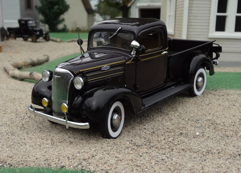 1937 Chevrolet Model Gc Half Ton Pickup Truck Issued By
