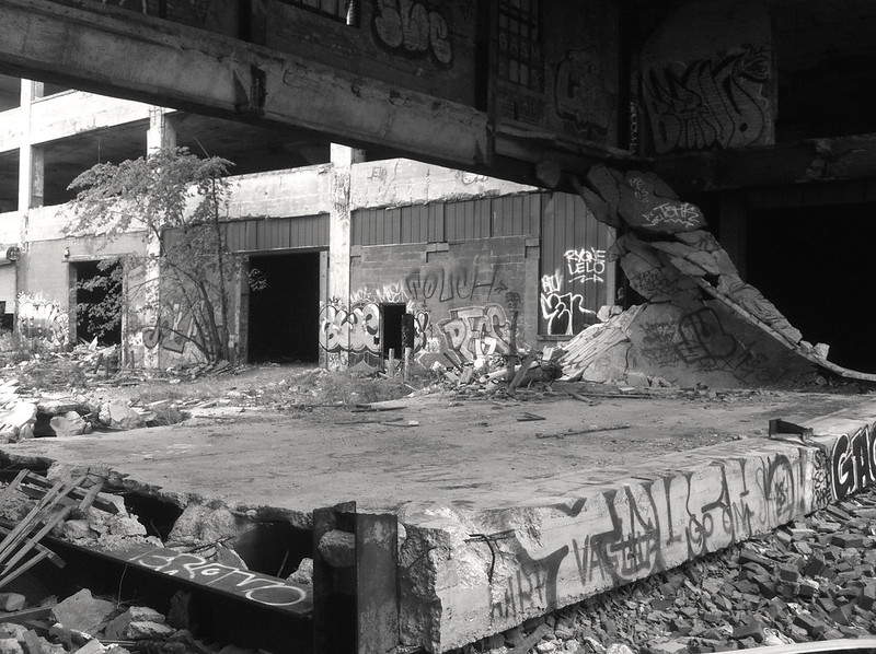 Packard Plant - Detroit 2012