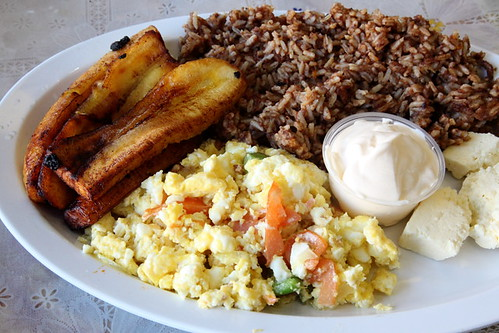 Breakfast platter, Vina del Mar, Jamaica, Queens | by Eating In Translation