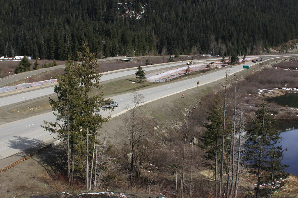 I 90 snoqualmie pass east gold creek 2010 for I 90 construction