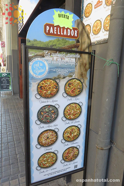 melhores paelhas em Barcelona