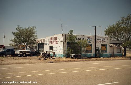 Old route 66 garage san jon new mexico for Route 66 garage metz
