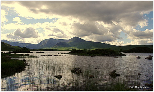 Lochan na Achlaise . | by eric robb niven
