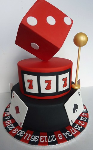 Images Of Casino Themed Cakes