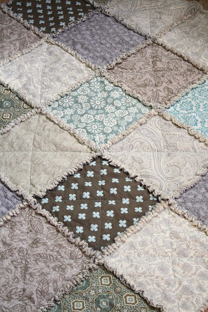 Gray Tan Tile Floors In Kitchen