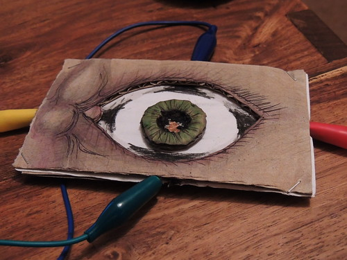 MakeyMakey DIY eyeball UI | by rosemarybeetle