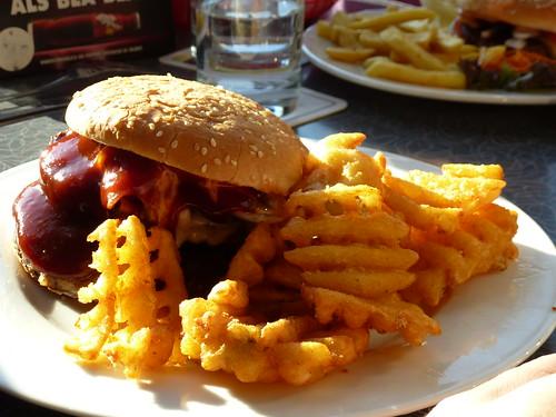burger im american restaurant diner in essen ruhrgebiet flickr. Black Bedroom Furniture Sets. Home Design Ideas