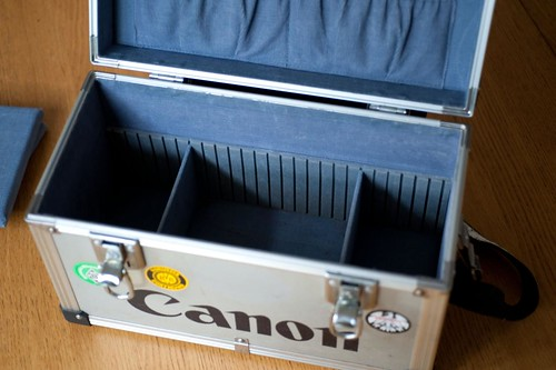 Vintage Canon camera/flight case | by whatsthatpicture