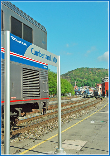 Train time in Cumberland, Maryland | by sjb4photos