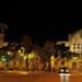 Nighttime Plaza Universitat Barcelona