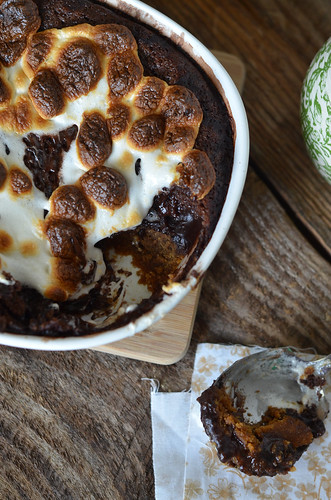Ooey Gooey Smores Pudding Cake 2 | by Seeded at the Table