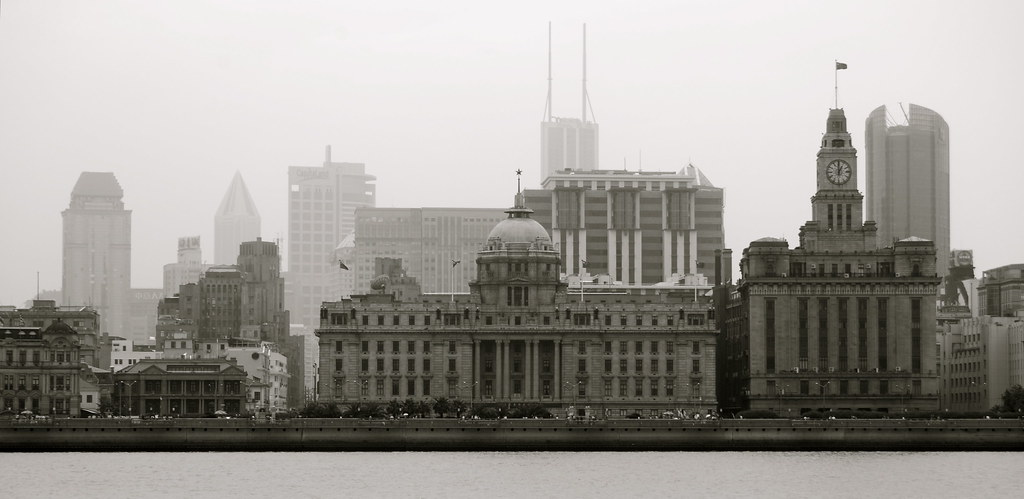 comparing the bund in shanghai with the liverpool waterfro