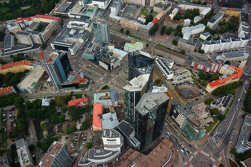 Tornimäe Towers from Helicopter | by tarmo888