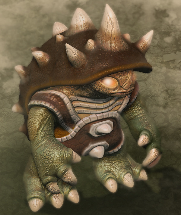 Rammus | Quick sculpt, learning to model in 3D  Rammus from