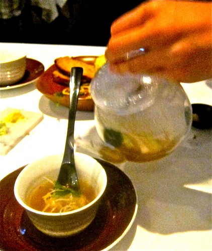 pouring soup on xiao lung pao dumpling | by jayweston@sbcglobal.net