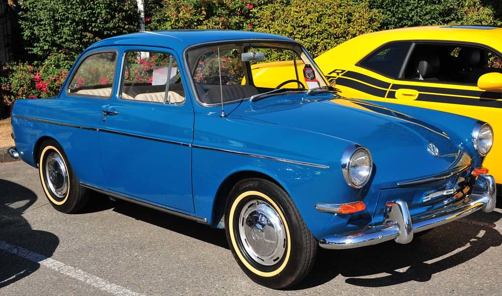 1965 Vw Type 3 Notchback