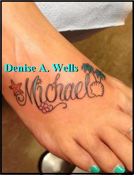 michael foot tattoo design by denise a wells a custom tat flickr. Black Bedroom Furniture Sets. Home Design Ideas