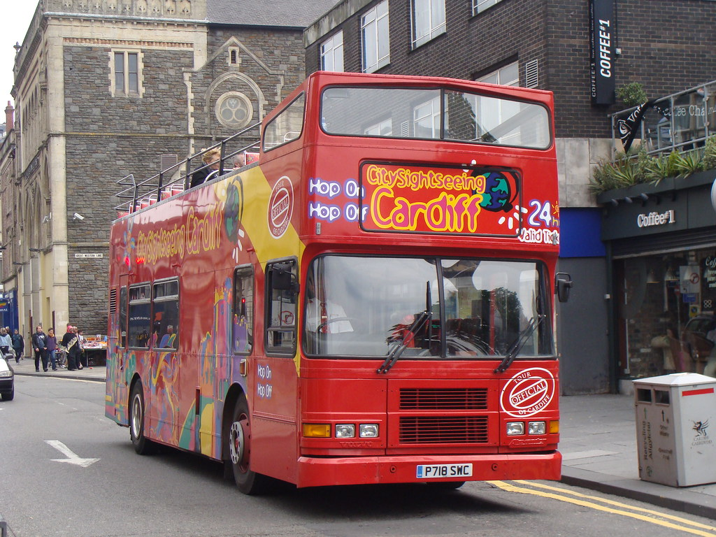 Image result for sightseeing bus in cardiff