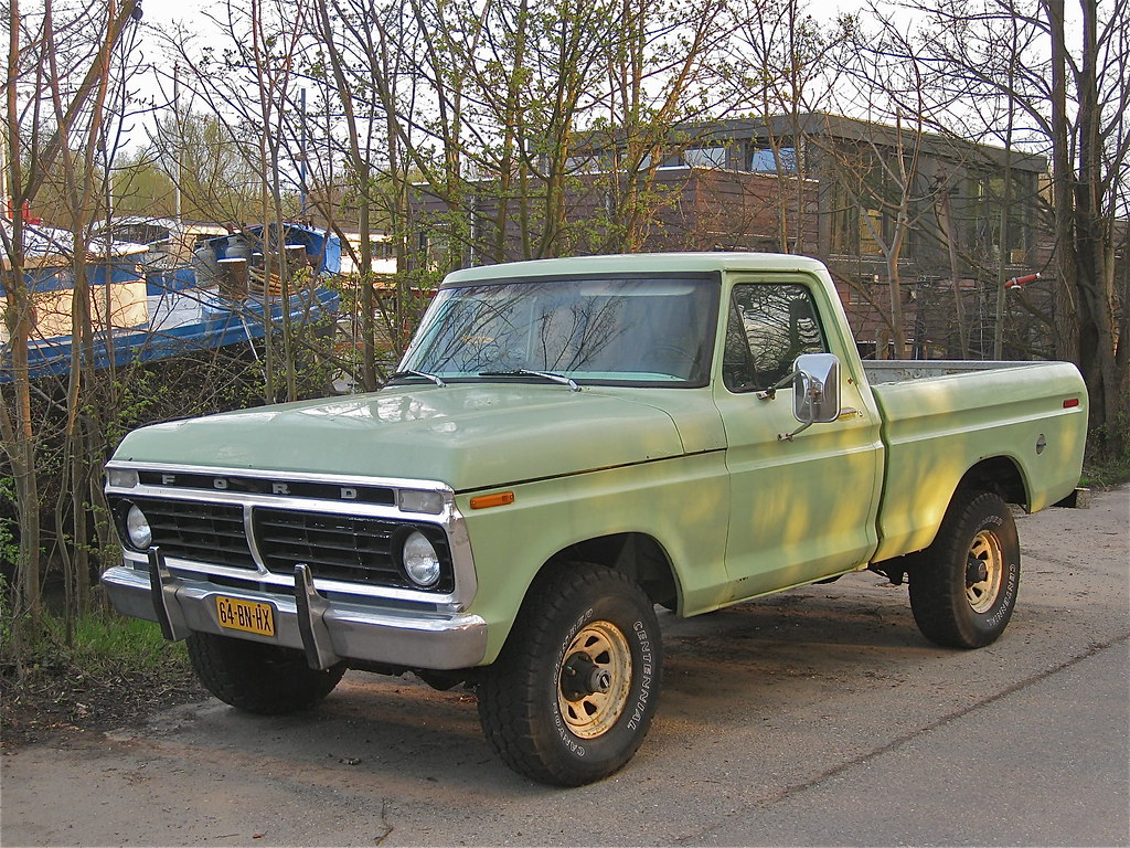 1973 Ford F110 Pick Up Imported In Spring 2004 8